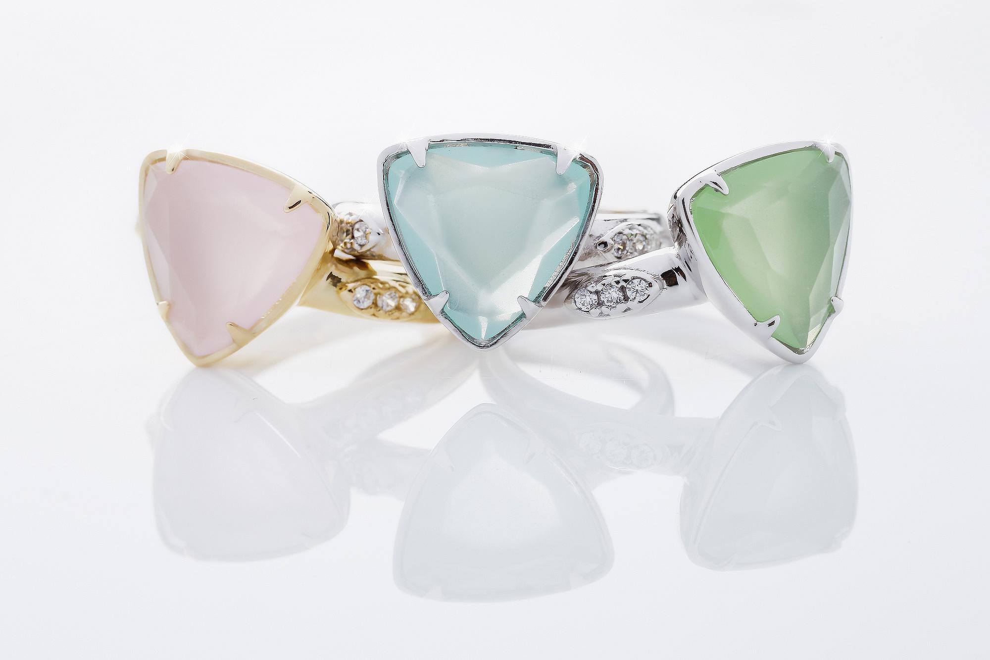Parrini Gioielli - Rings with stones and gem